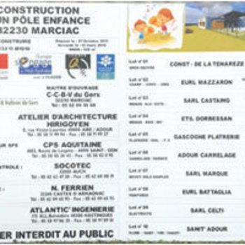 Gascogne Enseignes - Condom - Panneaux chantiers