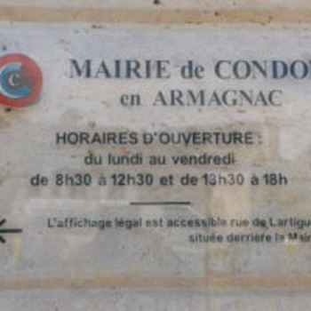 Gascogne Enseignes - Condom - Panneaux plexi