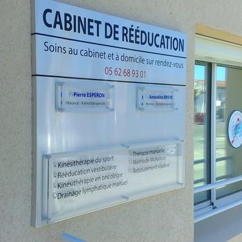 Gascogne Enseignes - Condom - Plaque professionnel