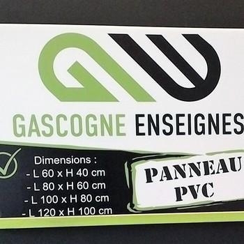 Gascogne Enseignes - Condom - Panneaux Immobiliers