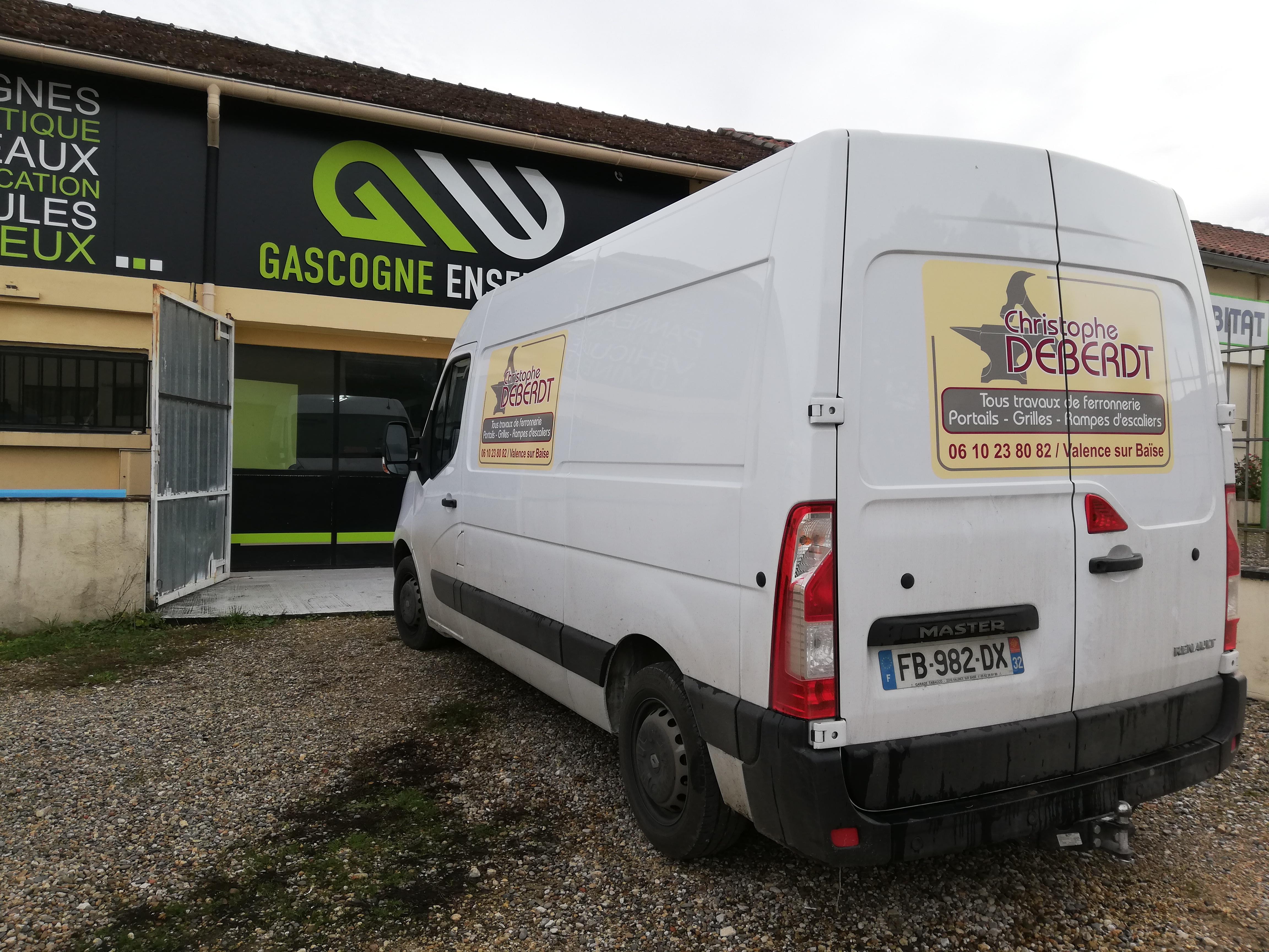 Publicité camion